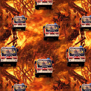 Wildfire Heroes Fire and Firetruck Repeat