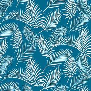 Australiana Soaring Ferns on Teal