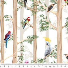 Load image into Gallery viewer, Birds of the Bush Among the Gums White