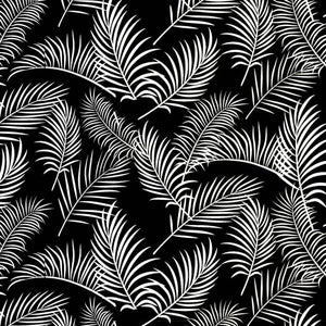 Australiana Soaring Ferns on Black