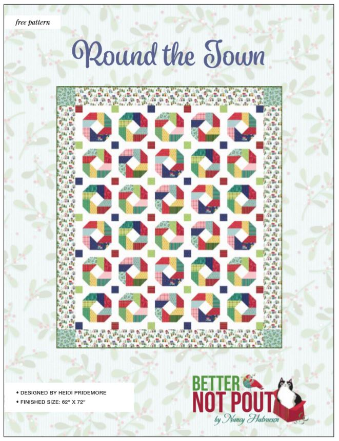 Better Not Pout 'Round the Town' Quilt Pattern