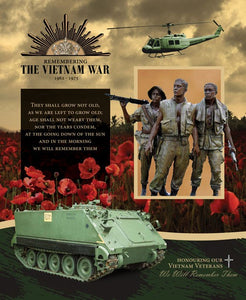 Remembering Vietnam Panel Tank