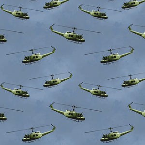 Remembering Vietnam Helicopters Blue