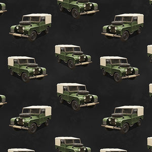 Remembering Vietnam Land Rover Charcoal
