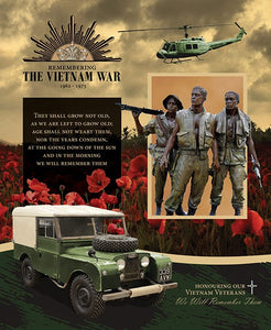 Remembering Vietnam Panel Land Rover