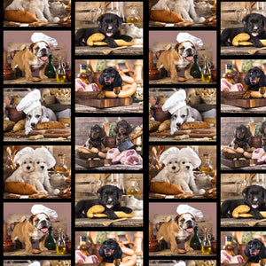 Kitchen Dogs Collage