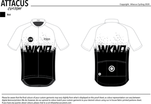 Dirty Wknd 'Maglia Nera' Women's Foundation Jersey: Pre-Order