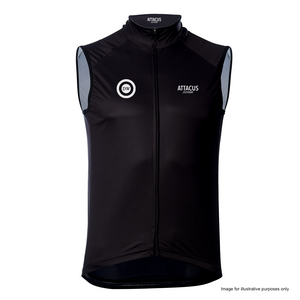 Dirty Wknd 'Maglia Nera' Men's Foundation Windproof Vest: Pre-Order