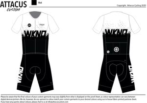 Dirty Wknd Women's Short Sleeve Speedsuit: Pre-Order