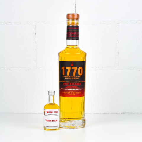 Glasgow Distillery 1770 Whisky Release 2019 5cl - Whisky Grail
