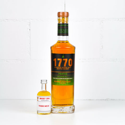 Glasgow Distillery 1770 Whisky Peated 5cl - Whisky Grail