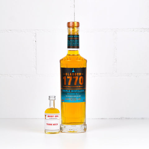 Glasgow Distillery 1770 Whisky Triple Distilled 5cl - Whisky Grail