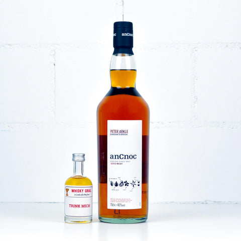 AnCnoc Peter Arkle Edition #1: Ingredient 5cls - Whisky Grail