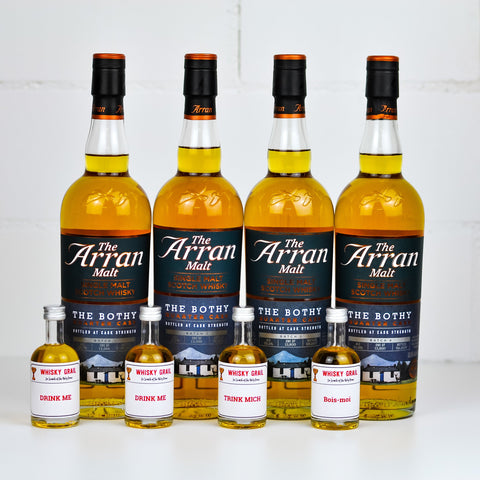 Arran The Bothy Quarter Cask Batch Set (Batch 1-4) - Whisky Grail