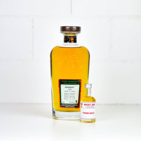Benrinnes 21 Years Old Signatory CS 5cl - Whisky Grail