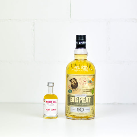 Big Peat Set (4 Proben) 4x5cl - Whisky Grail