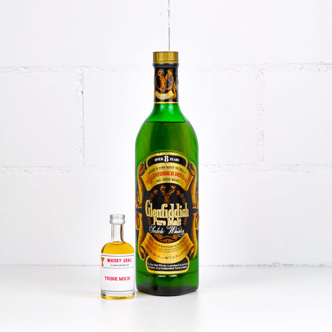 Glenfiddich Pure Malt Over 8 Years 90s 5cl - Whisky Grail