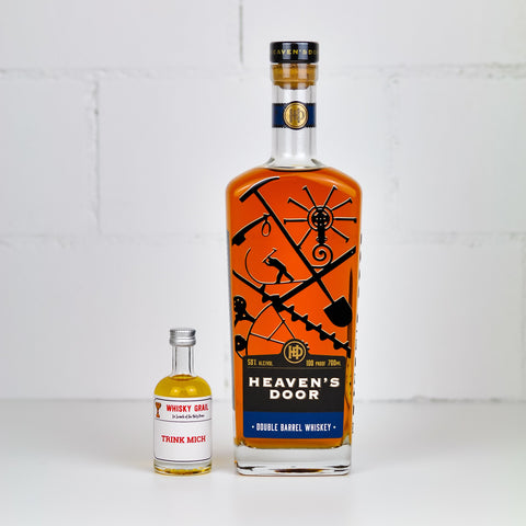 Heaven's Door Double Barrel Whiskey 5cl - Whisky Grail