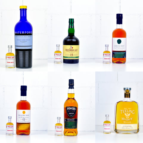 Grosses Irisches<br>Whisky Set<br>6x5cl