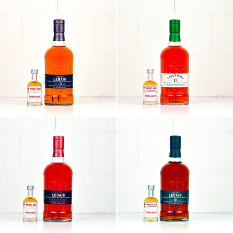 Tobermory Whisky Set <br>4x5cl<br><br>