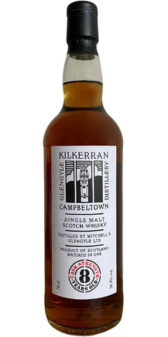 Kilkerran 8 Years Old Cask Strength<br>5cl