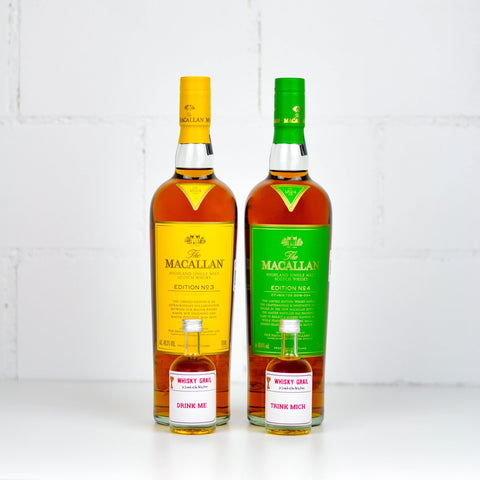 Macallan Edition № 3 and 4 Set