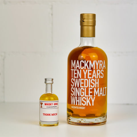 Mackmyra 10 years old - Whisky Grail