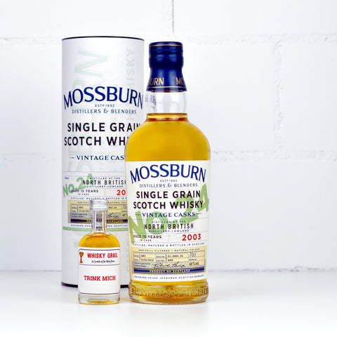 Mossburn Vintage Cask No. 24 North British<br>15 YO 2003/2019 5cl