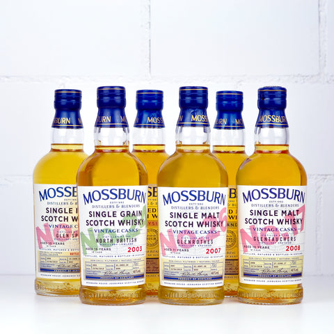 Mossburn Whisky Set of 6x5cl