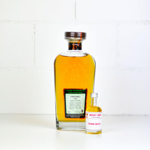 Strathmill 22 Years Old Signatory CS 5cl - Whisky Grail