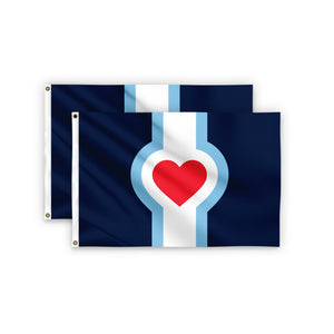 Buy One / Gift One - 2' x 3' KC Flag Bundle