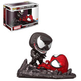 Spider-Man vs. Venom Comic Moment Pop! Vinyl Figure 2-Pack - Previews Exclusive Coming in May