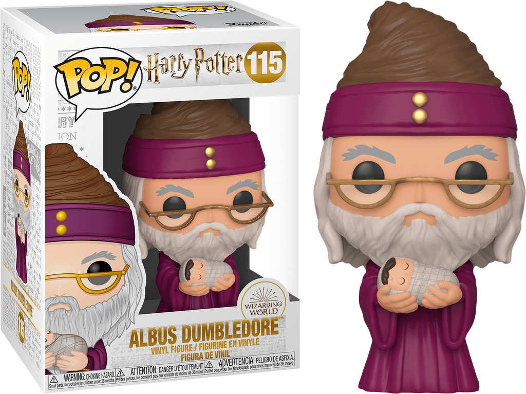 Harry Potter Dumbledore with Baby Harry Pop! Vinyl Figure