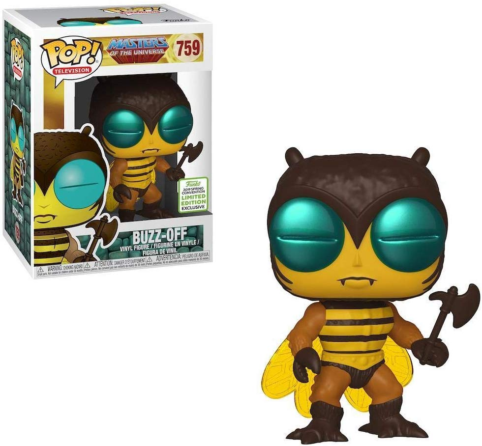 POP! Funko Masters Of The Universe Buzz Off Funko ECCC (Shared Sticker)