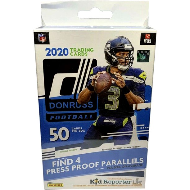 2020 Panini Donruss NFL Football Trading Cards Hanger Box