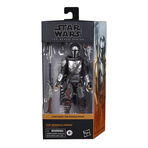 Star Wars The Black Series The Mandalorian (Beskar) 6-Inch Action Figure Coming in August 2020