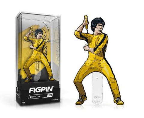 Bruce Lee Yellow Jumpsuit FiGPiN #371