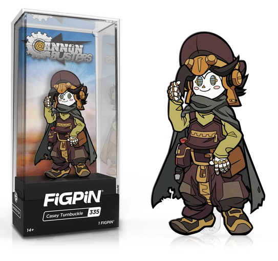 FiGPiN Classic: Cannon Busters - Casey Turnbuckle #335 Coming in May