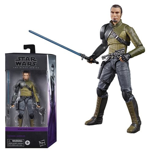 Star Wars The Black Series Kanan Jarrus 6-Inch Action Figure Coming in August 2020