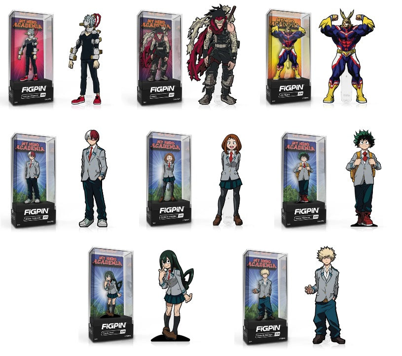 FiGPiN Classic: My Hero Academia Bundle