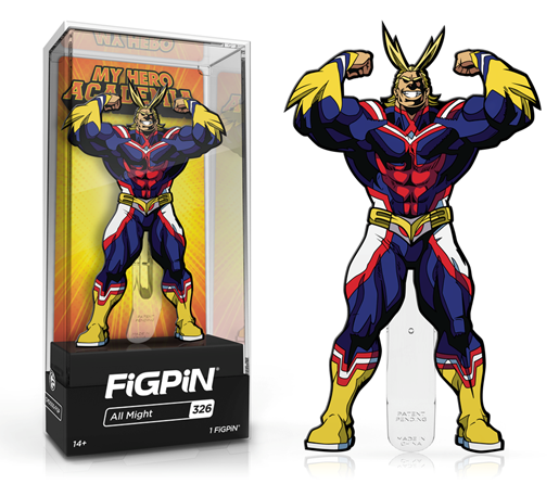 FiGPiN Classic: My Hero Academia - All Might #326