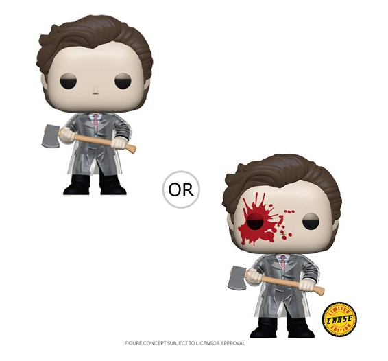 American Psycho Patrick with Axe Pop! Vinyl Figure Coming in May 2020