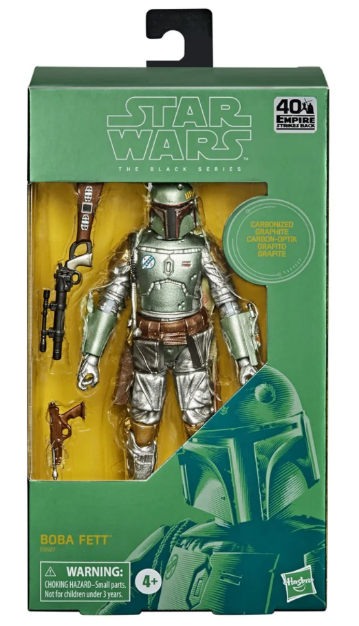 Star Wars The Black Series Carbonized Boba Fett 6-Inch Action Figure