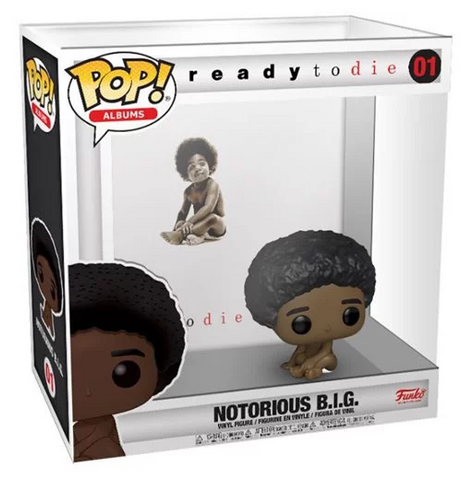 Biggie Smalls Ready to Die Pop! Album Figure with Case Coming in November 2020