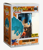 FUNKO DRAGON BALL SUPER POP! ANIMATION SSGSS GOKU VINYL FIGURE HOT TOPIC EXCLUSIVE
