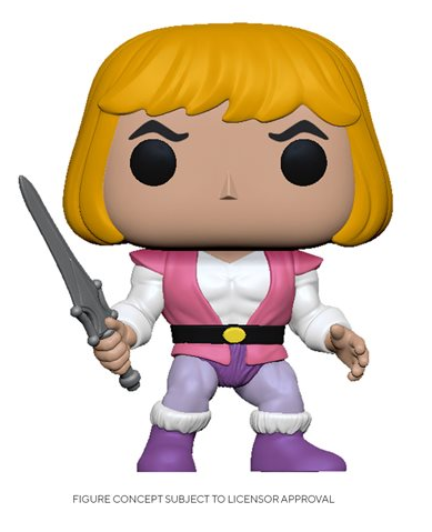 Masters of the Universe Prince Adam Pop! Vinyl Figure Coming in June 2020