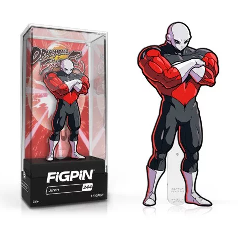Dragon Ball FighterZ Jiren FiGPiN Enamel Pin Shipping in March