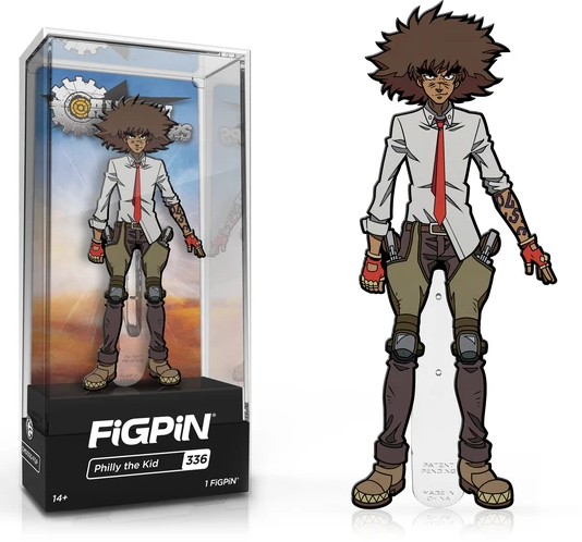 FiGPiN Classic: Cannon Busters - Philly the Kid #336 Coming in May