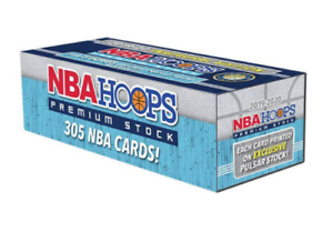 2020 NBA Hoops Premium Stock Basketball Trading Card Factory Set Online Only