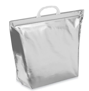 Insulated Carry Out Bag with Dry Ice